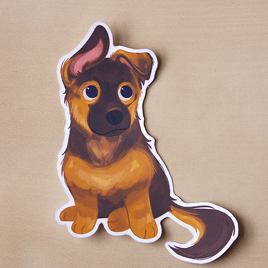 German Shepherd - Sticker