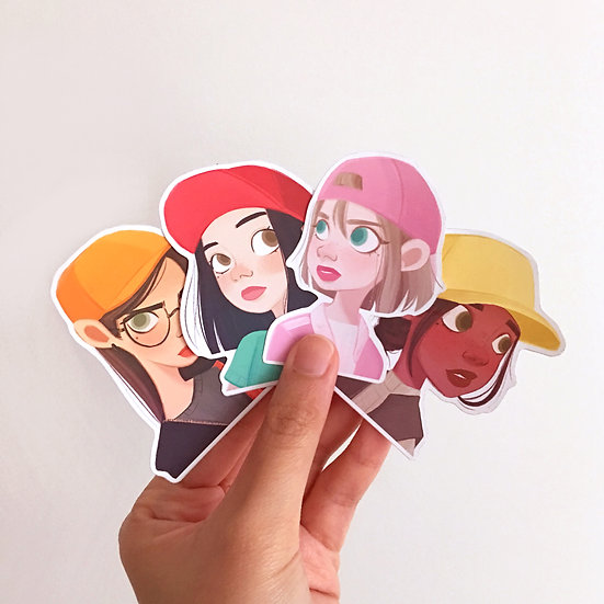 Fruit Caps - Sticker Set