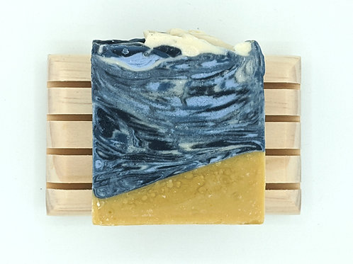 Wooden Draining Soap Dish (Soap not included)