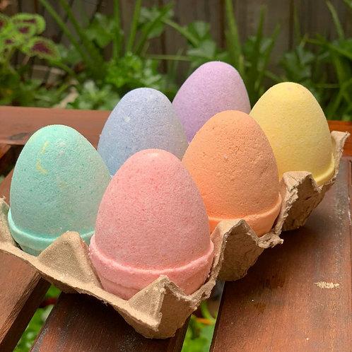 Rainbow Fizzy Eggs