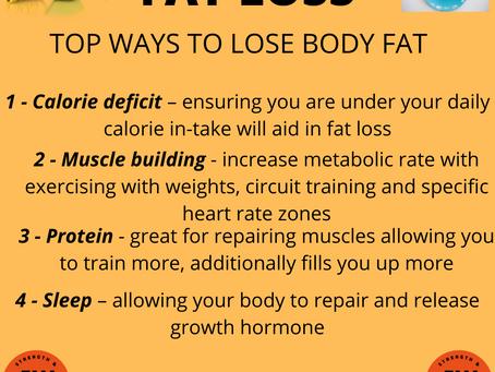 FAT LOSS 💪🏻🏋️♀️🚴♂️