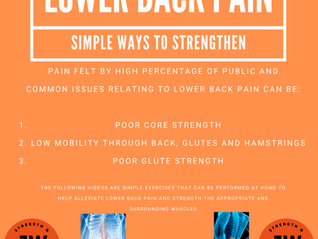 Lower Back PAIN!!!