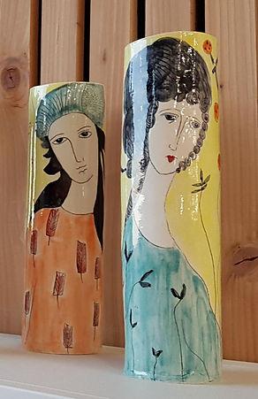 Vase porcelaine 35cm