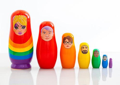 Pride Doll Set