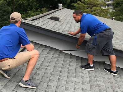 SETTING UP A SCHEDULE WITH YOUR ROOFER:   Best time for a Repair