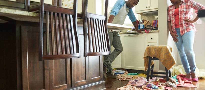 Water Damage in the home: The 5 most common types and fixes