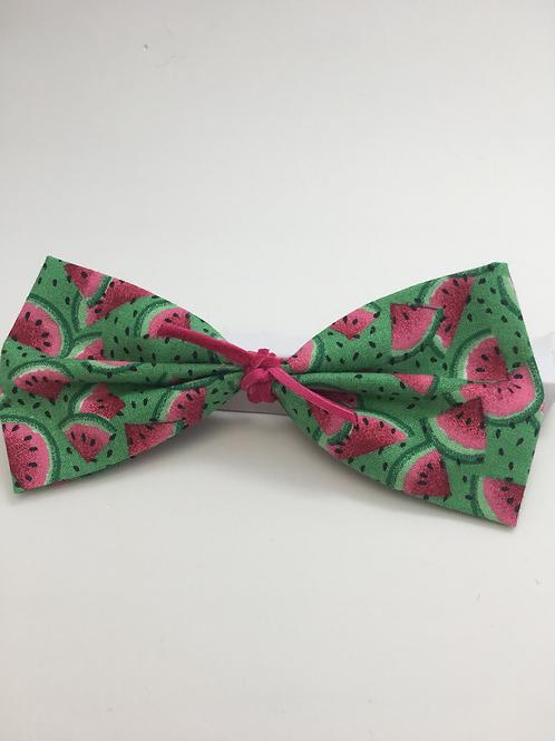 Watermelon Bow Tie Hair Bow
