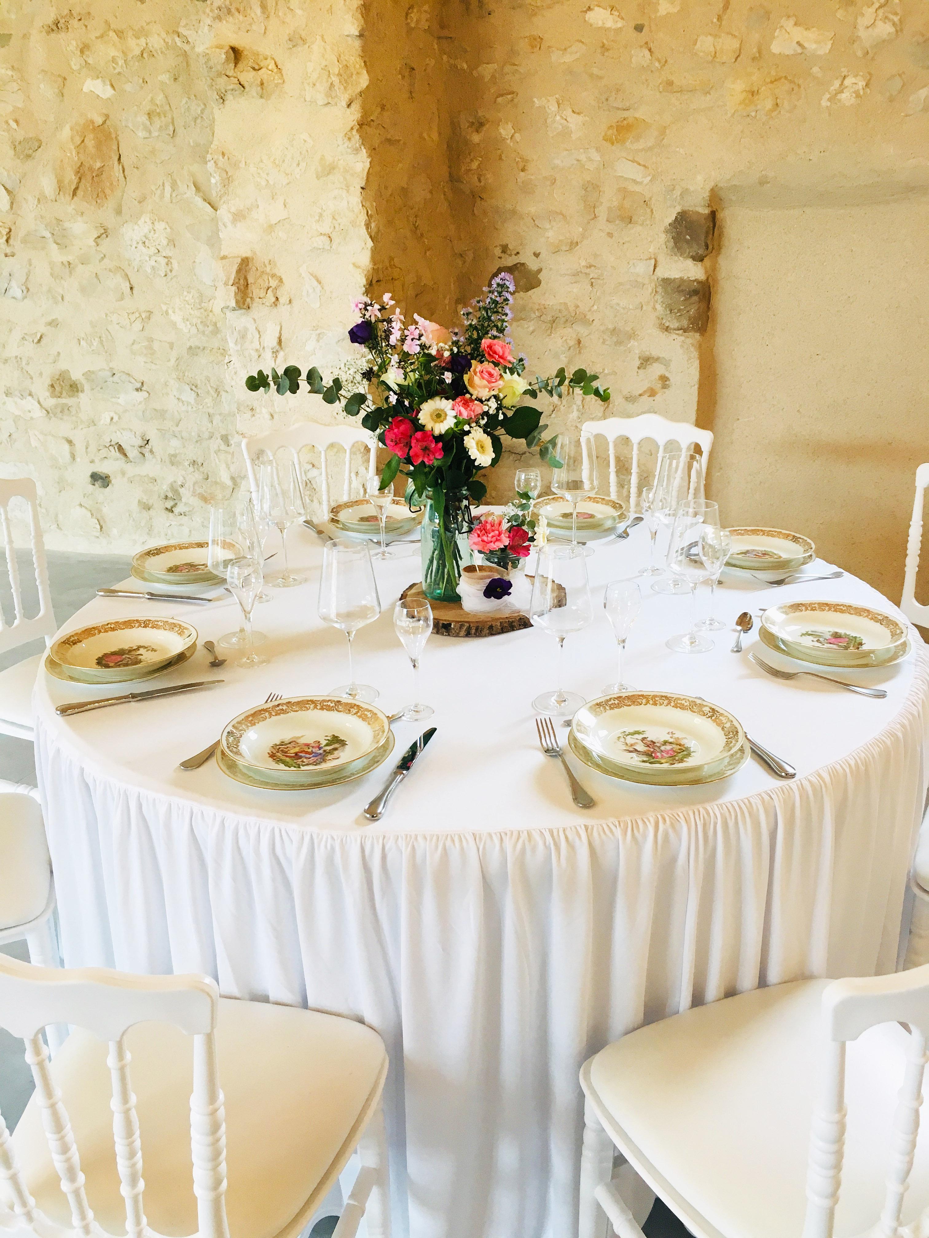 Maison des Apôtres - Table de mariage_02
