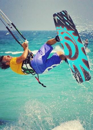 kitesurf La Cinta