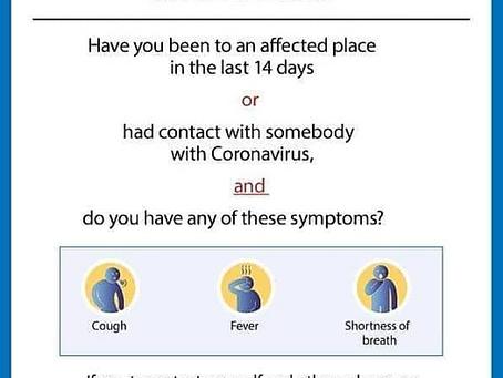 Coronavirus. A contingency plan.