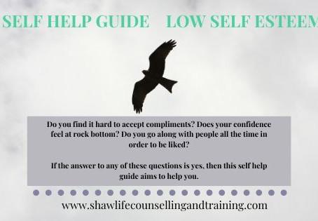 Low self esteem - a self help guide