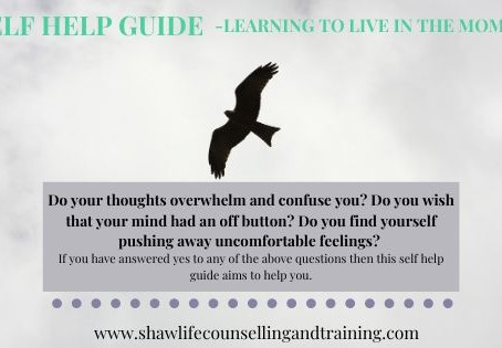 Learning to live in the present moment - A self help guide