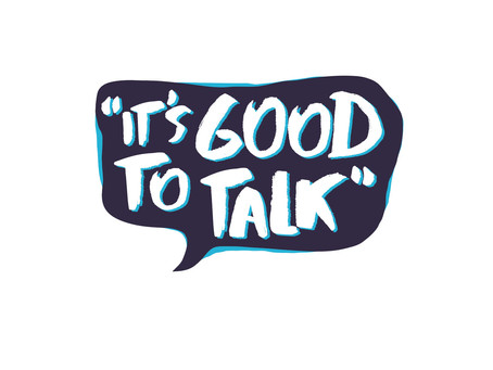 It's good to talk - even for just a short while