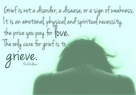 A counsellors experience of grief and loss