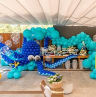 Oficina de festas fundo do mar baloes es