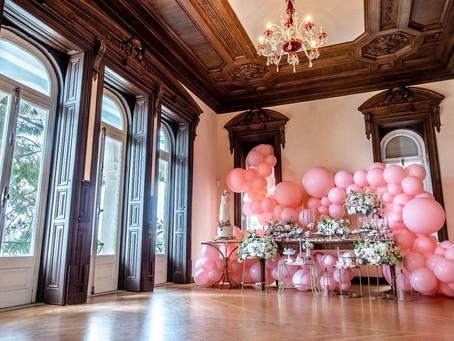 Os Balões e o Espaço: Cenários feitos de Ar!