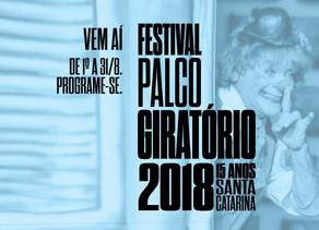 Painéis do Festival Palco Giratório em Floripa