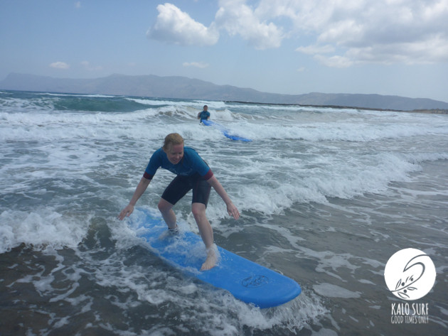 All you can surf in Kissamos