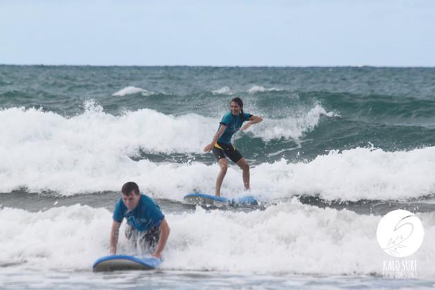 Surfing in October in Kissamos - Crete