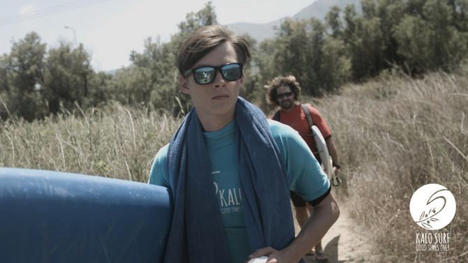 Surf Movie in Crete