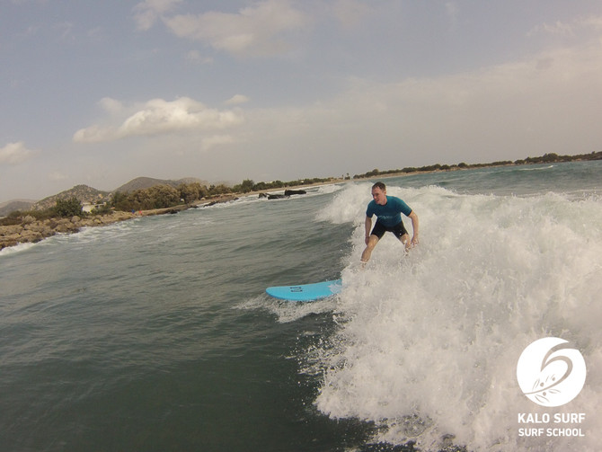 We are Going Down South, Surf Lesson in Crete