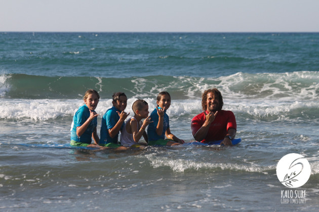 Surfing for Kids in Greece with Kalo Surf