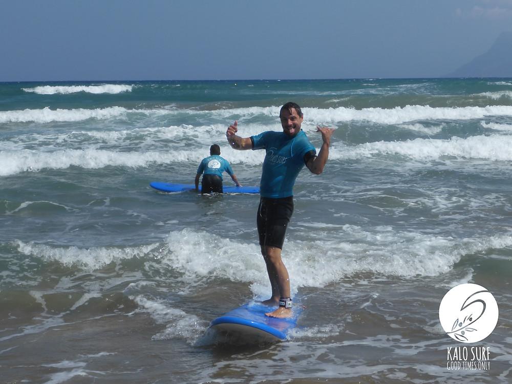surfer, ocean, waves, mountain, nature, sun