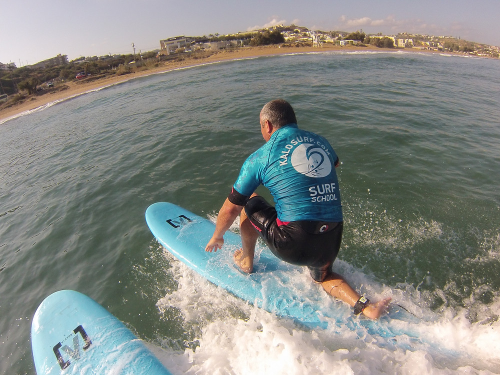 take off, surfing in Greece, surf board
