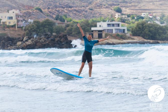 Yoga und Surfen auf Kreta mit dem Trust your Flow Yoga Retreat und Kalo Surf