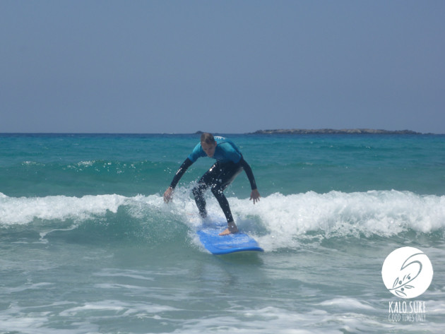 Surfing in Falassarna