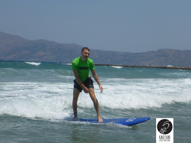 Smile and Surf in Crete