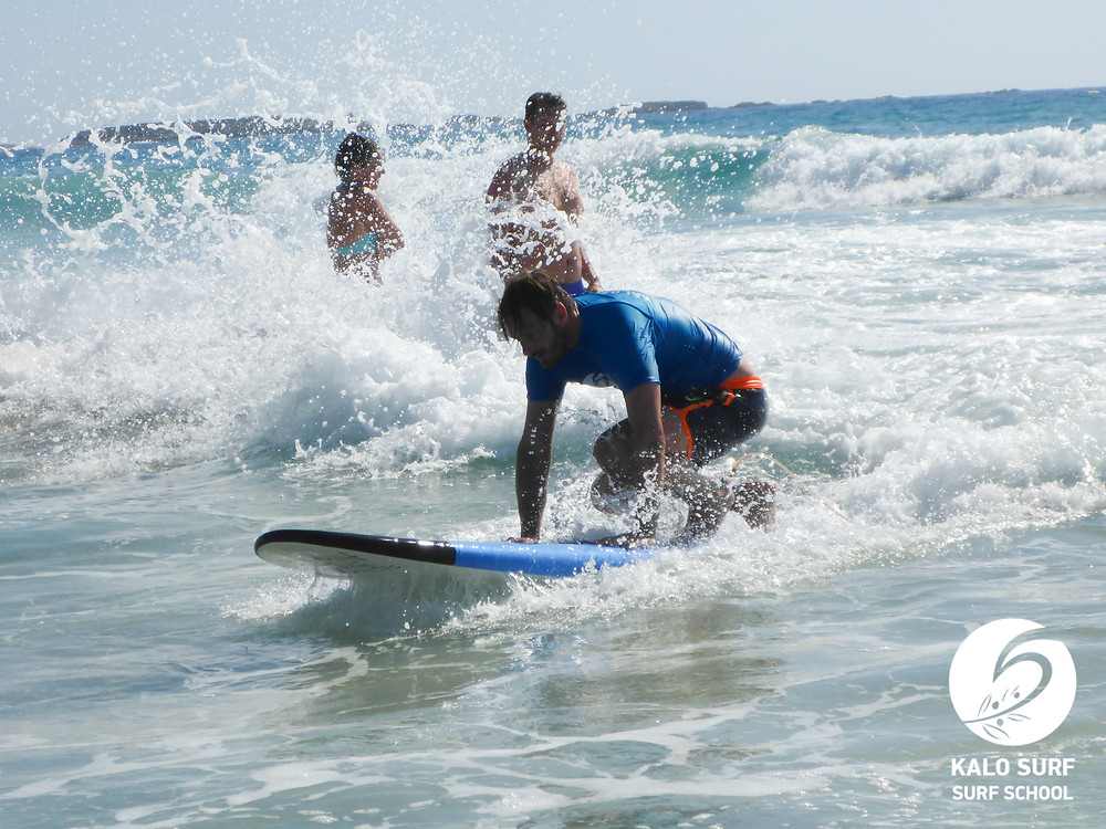 Take off on a wave in Crete