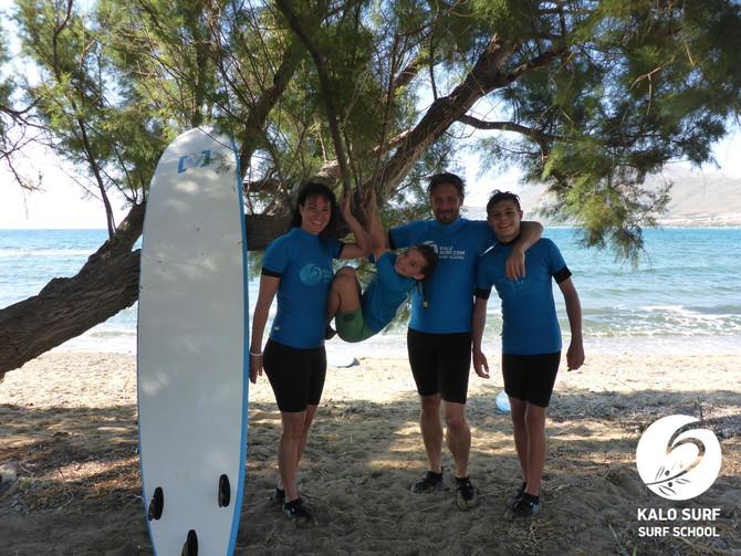 Surfen am Leeren Surfspot auf Kreta