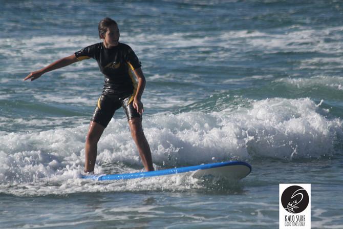 Windsurfers turn into Surfers