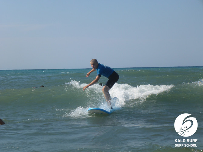 Afternoon Surf Course in Crete