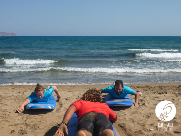 Intermediate Surfing Greece