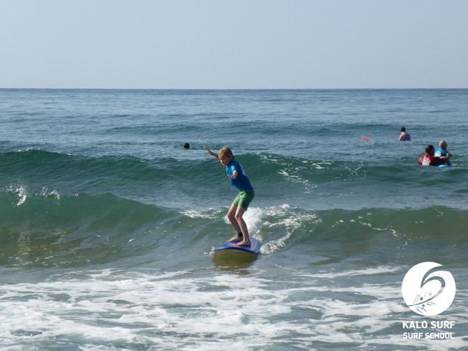 Three Generations Family Surfing in Crete