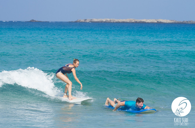 September Surf Session on Crete