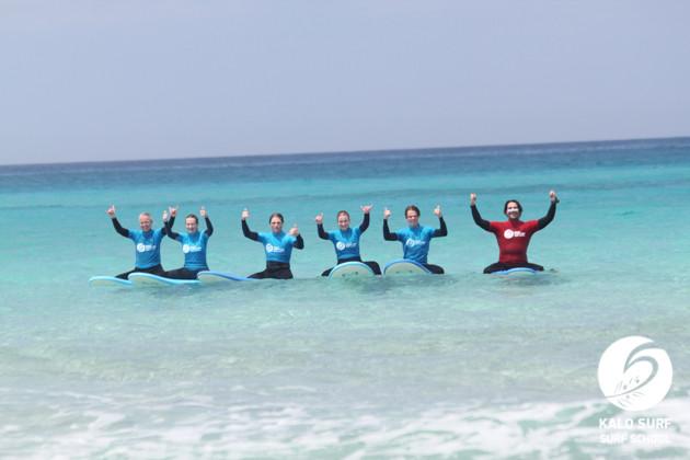 Glassy days Surfing in Crete