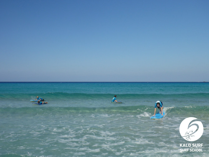 Surfing Lessons in Greece - August 2020