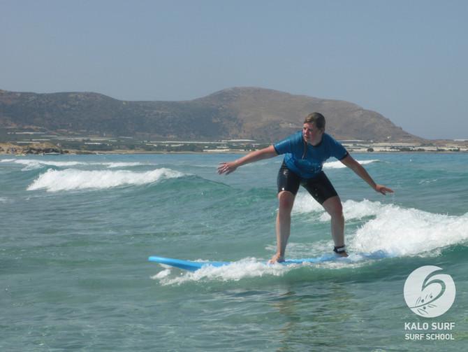 KW 23 - Wellenreiten im Juni in Griechenland