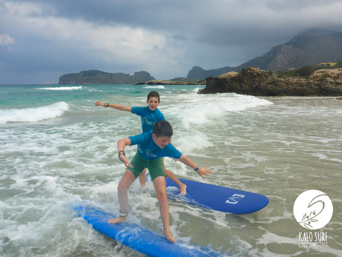 Correct positioning on the Surfboard