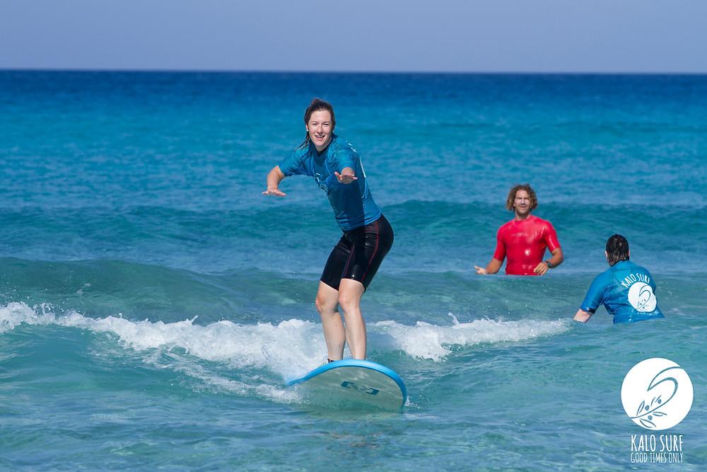 surfergirl, surfing, glassy waves, falassarna