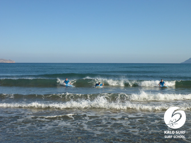 Early morning call for our Surfers in October