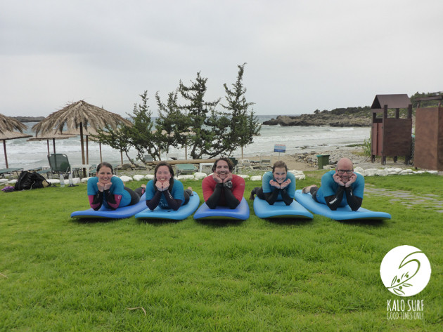 How Cute Are We? - Surfing in Crete