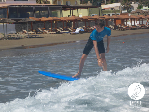 Surfing for Teenagers in Crete