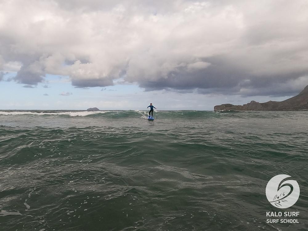 Surfkurs, Riff, Kreta