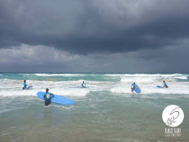 Big Swell in Falassarna
