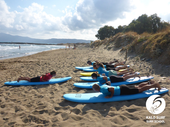 Morning Surf Sessions in Crete