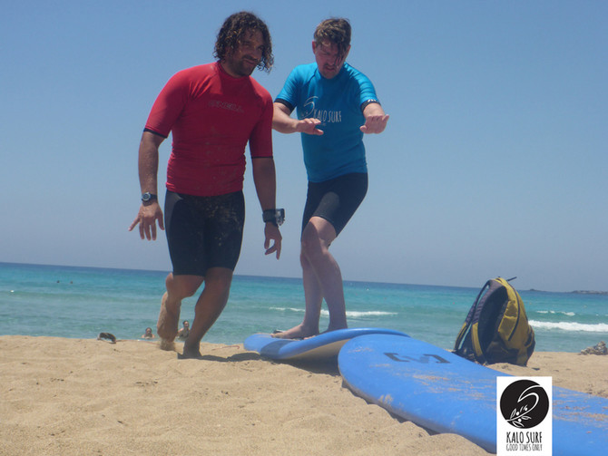 Surfen auf Kreta